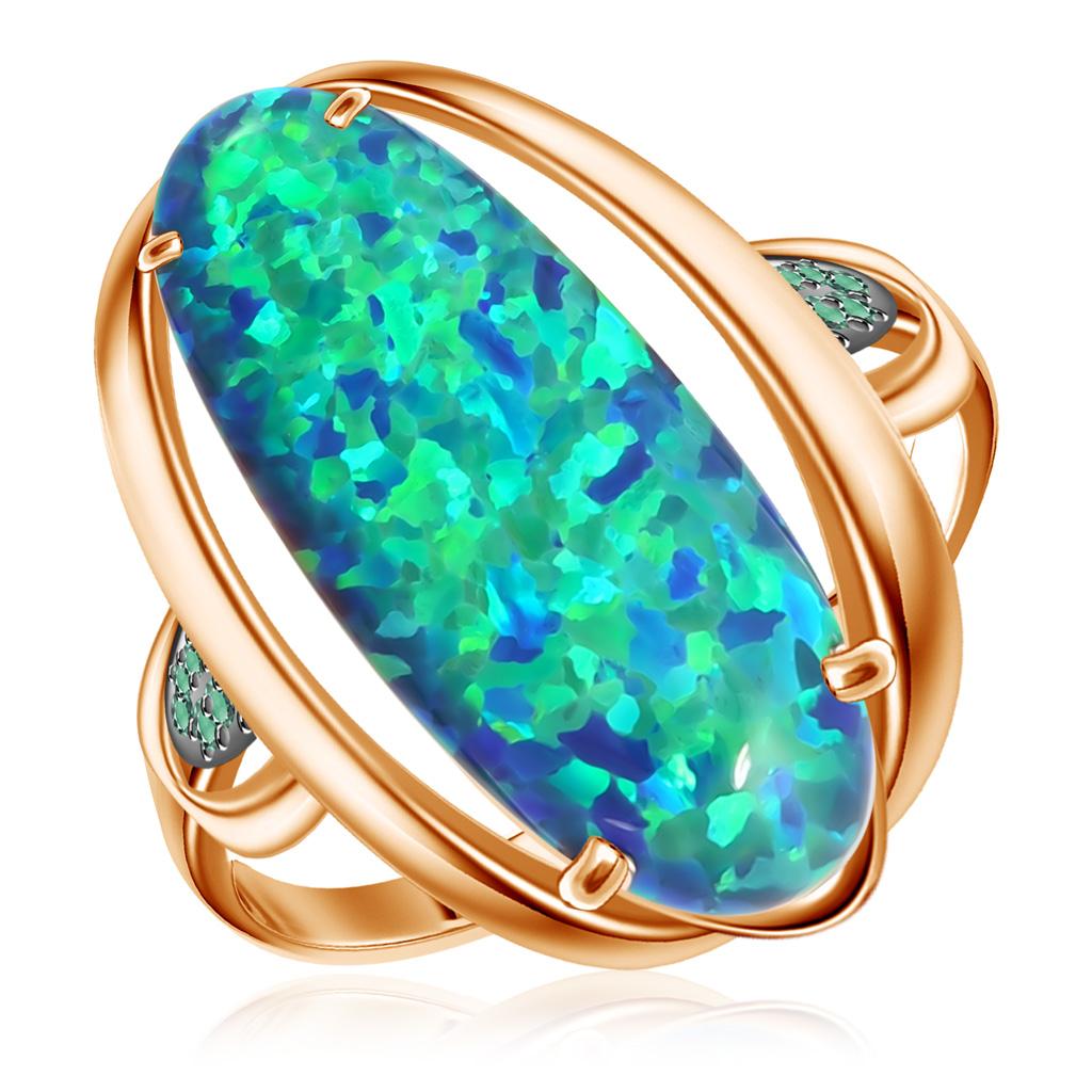 Кольцо из золота Д0268-714550