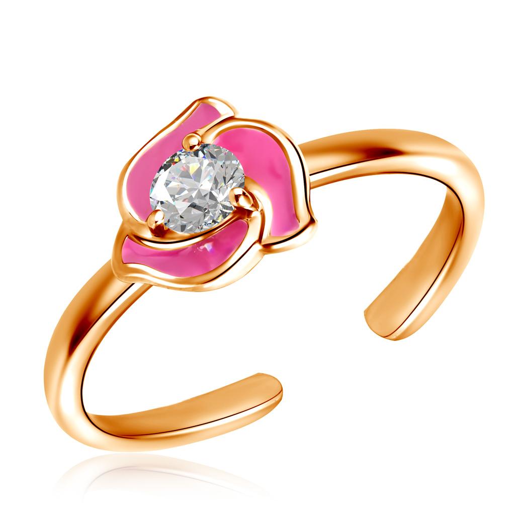 Кольцо детское из золота Д0268-8-0100031