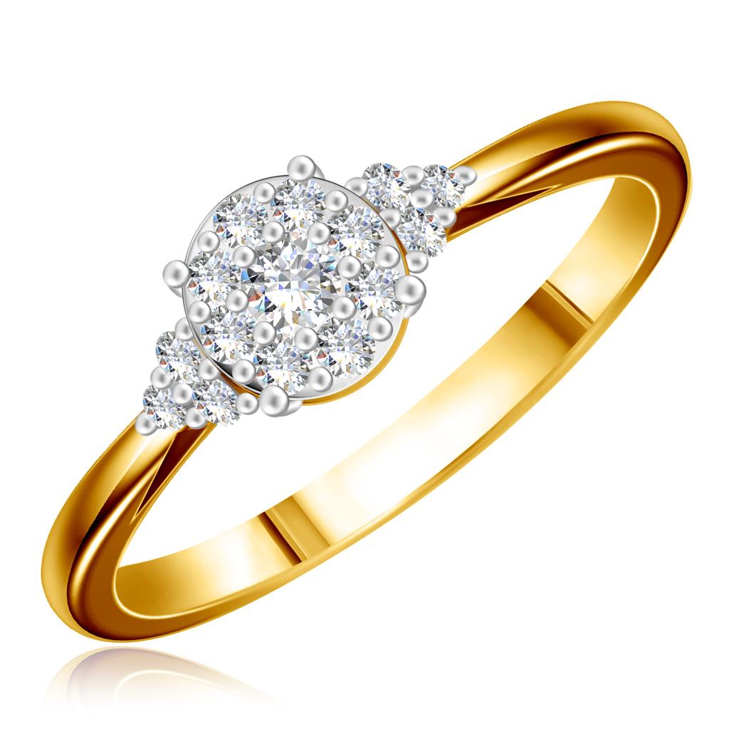 Кольцо из золота 4JEU2096