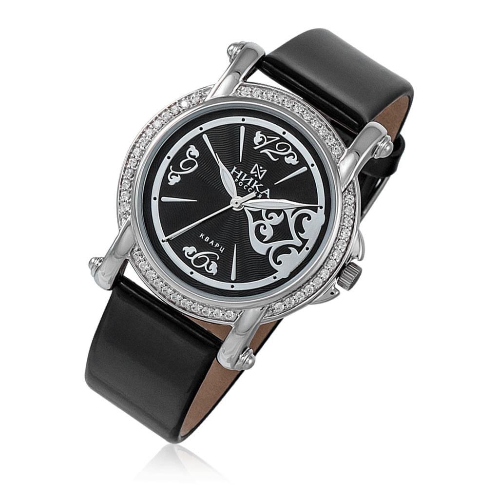 Часы женские НИКА из серебра 9014.2.9.52 часы женские из серебра ника 84423