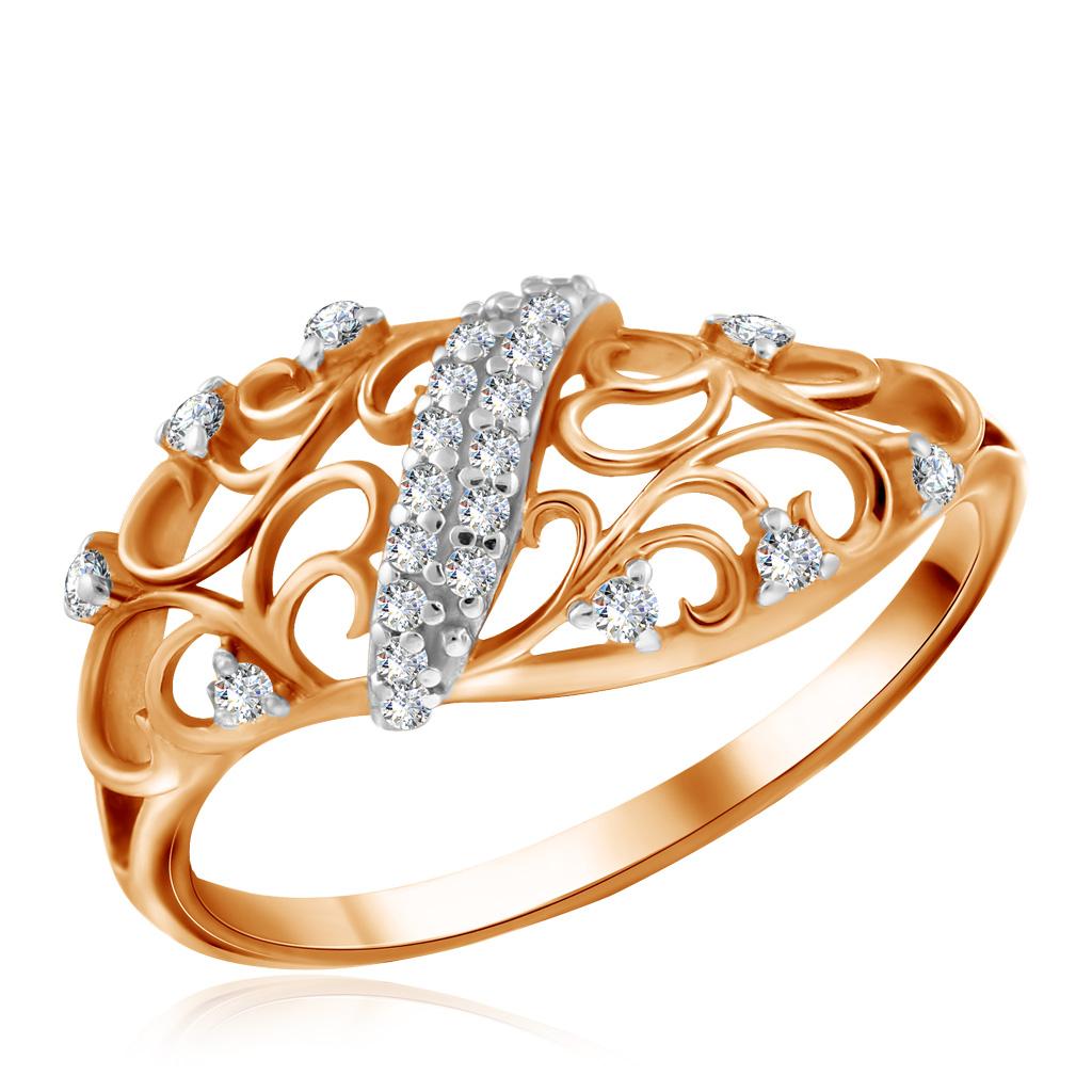 Кольцо из золота Ф7157-1-4195 цена