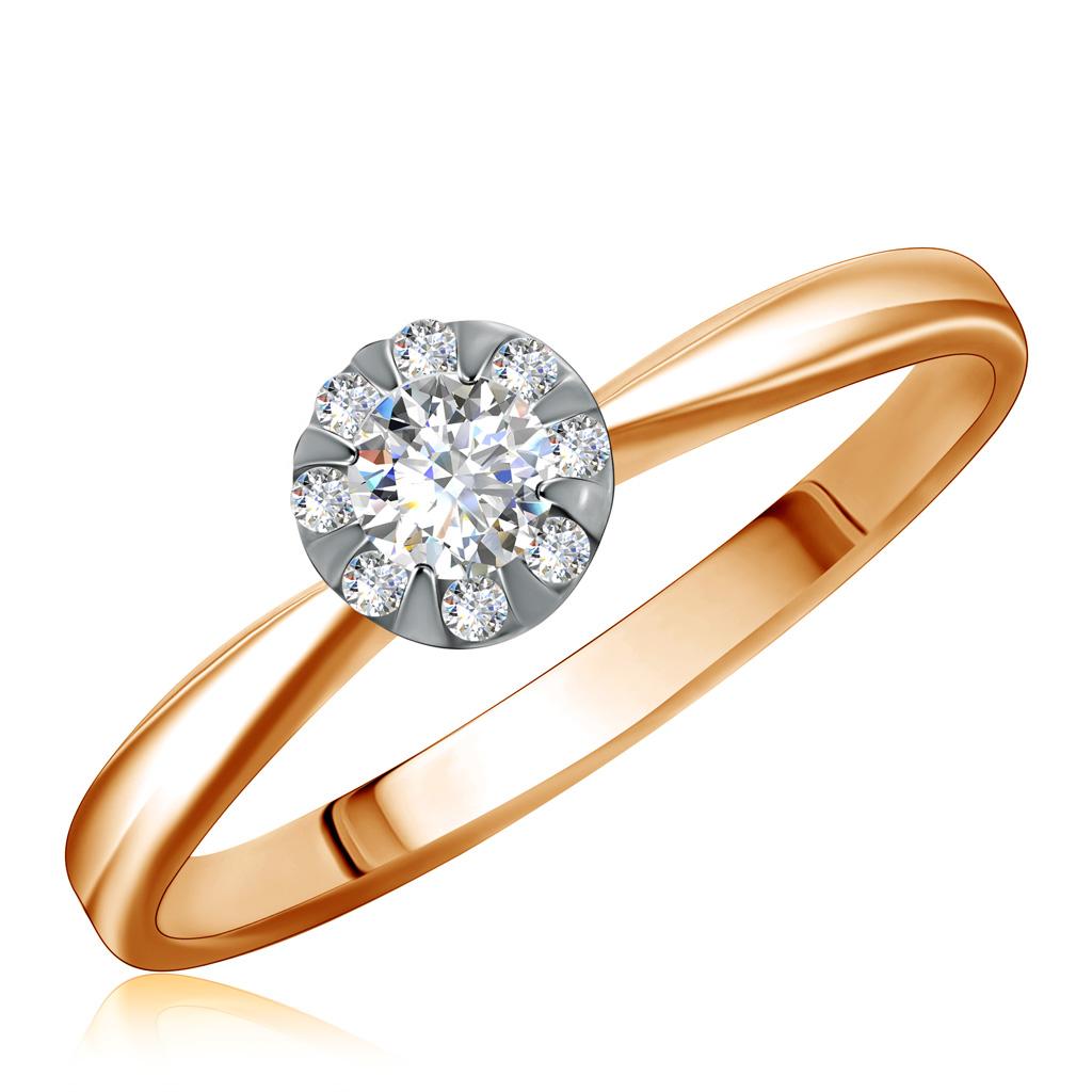 Купить со скидкой Кольцо из золота 1011446