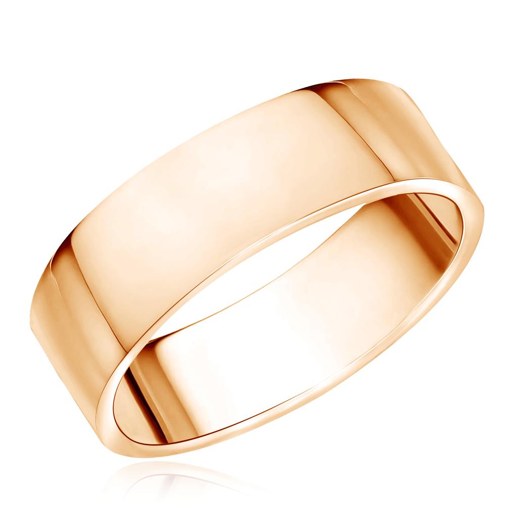 Гладкое обручальное кольцо из красного золота 15010259 кольцо обручальное гладкое из золота 55020252
