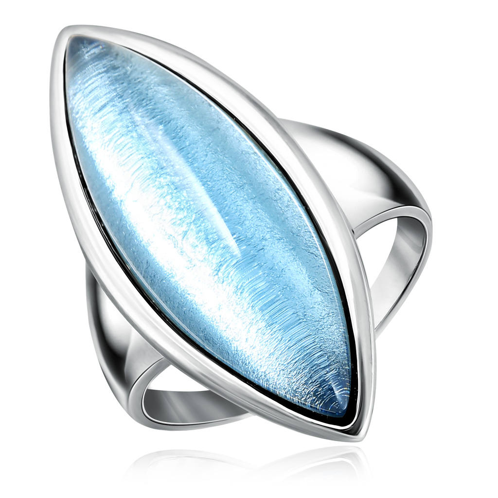 Купить со скидкой Кольцо из серебра S85611092