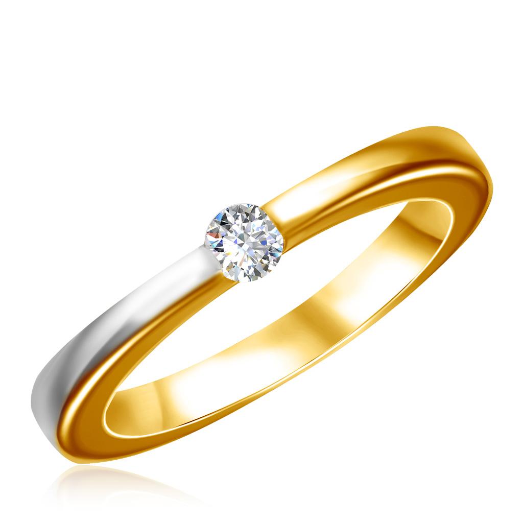 Кольцо из золота КИОФ025Кольца из желтого золота<br>Артикул: КИОФ025 Металл: Золото Au 585 Вставка: Фианит<br><br>Артикул: КИОФ025<br>Металл, проба: Золото<br>Цвет металла: Желтый<br>Вставка: Фианит
