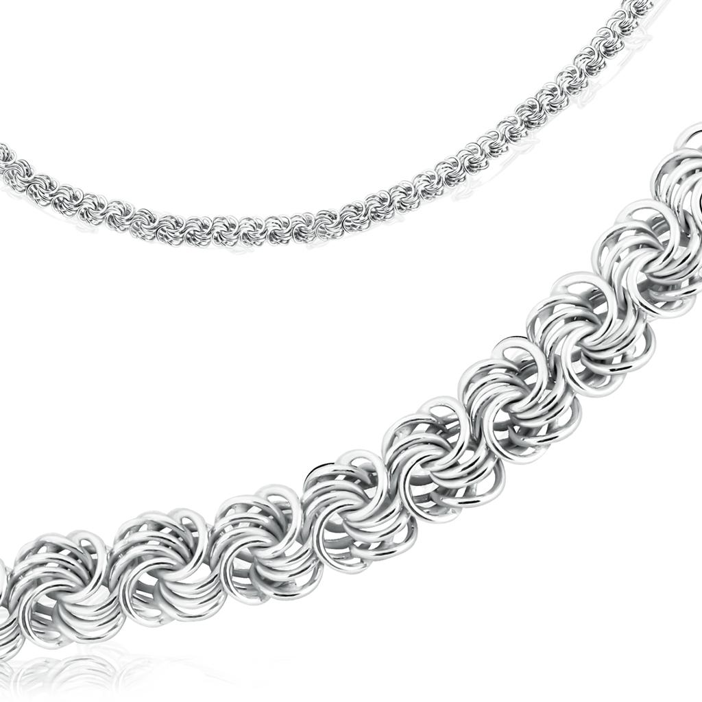 Цепь ручной работы из серебра 320603500