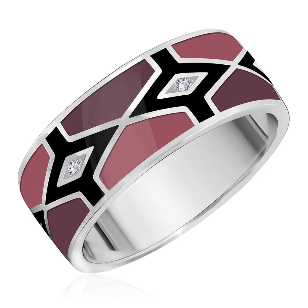 Кольцо из серебра 01-0378/ЭМ30-00