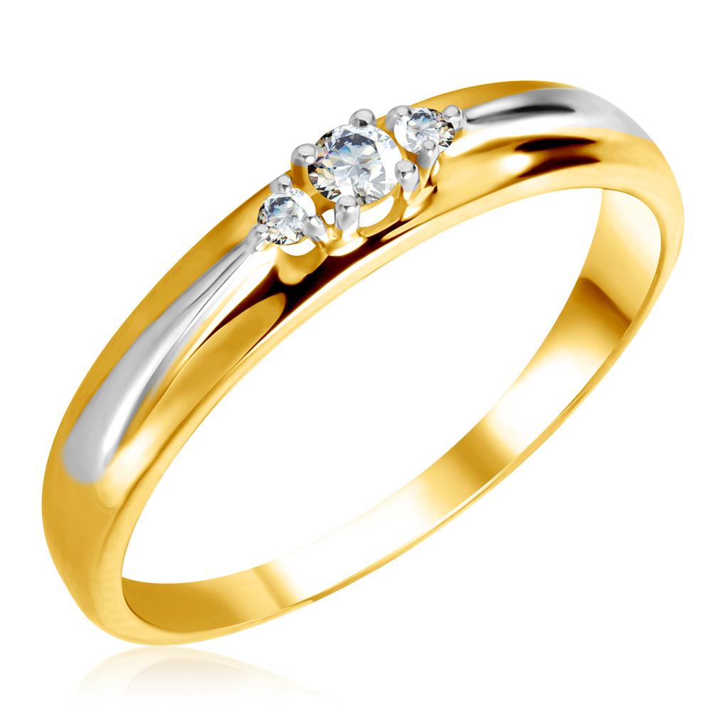 Кольцо из золота 1011590