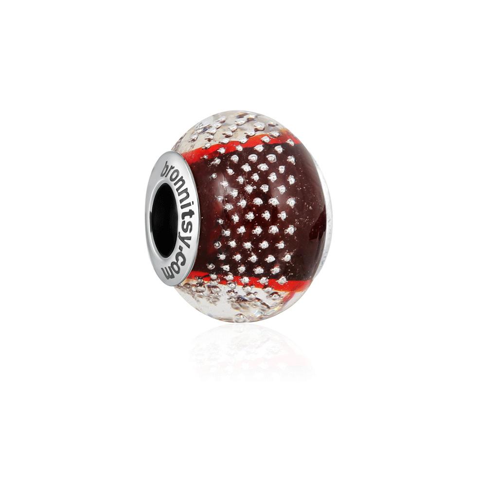 Шарм-мурано из серебра S77611146000