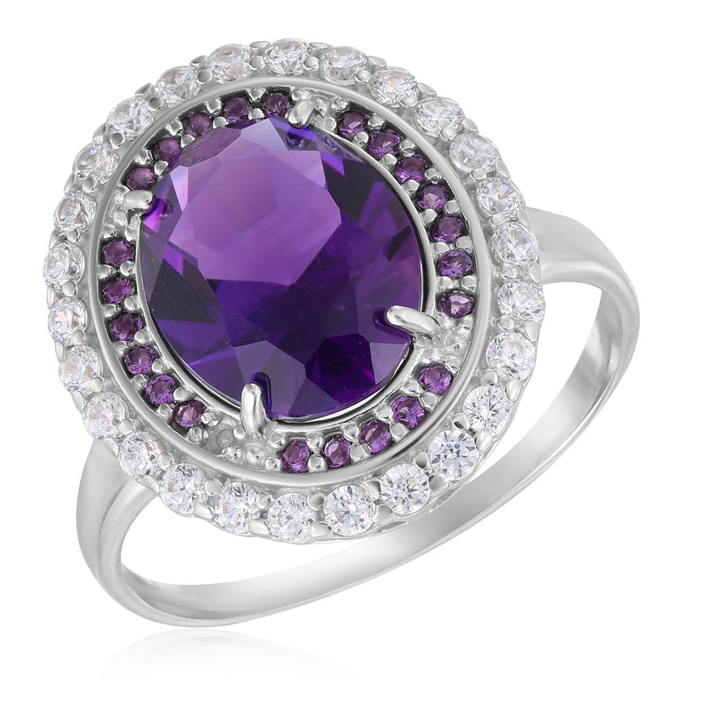 Кольцо из серебра 103331-001-0019 цена