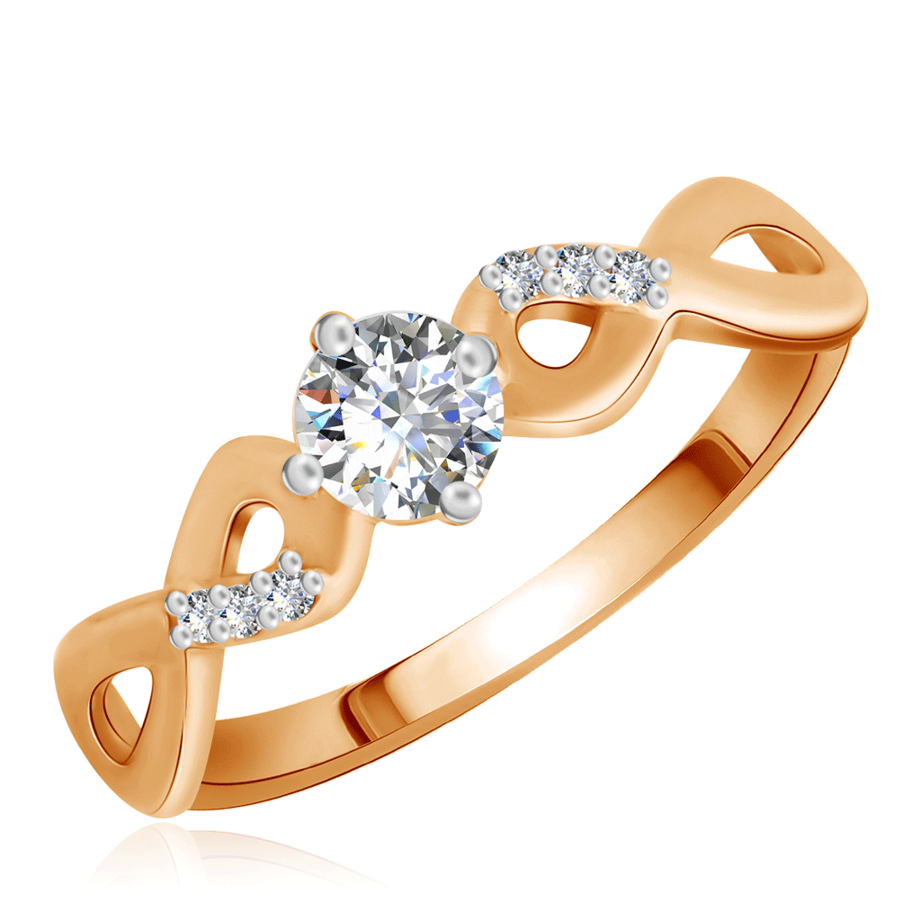 Кольцо из золота R5111598