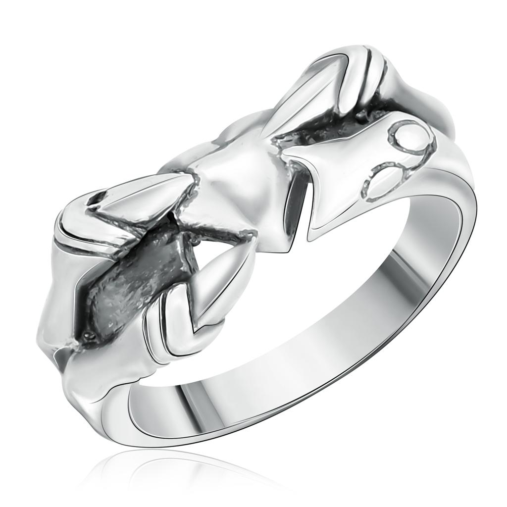 Кольцо серебряное мужское без вставок 71196