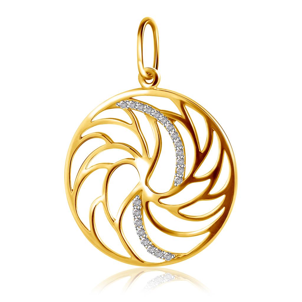 Кольцо из золота К10474брw
