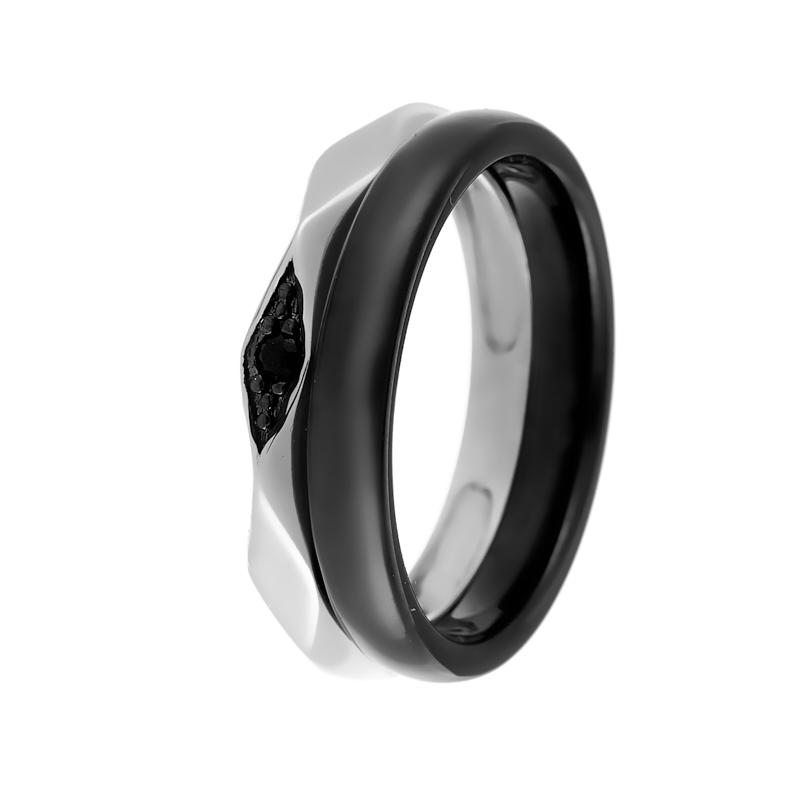 Кольцо из серебра TC-R01037-B-W-X-X-B
