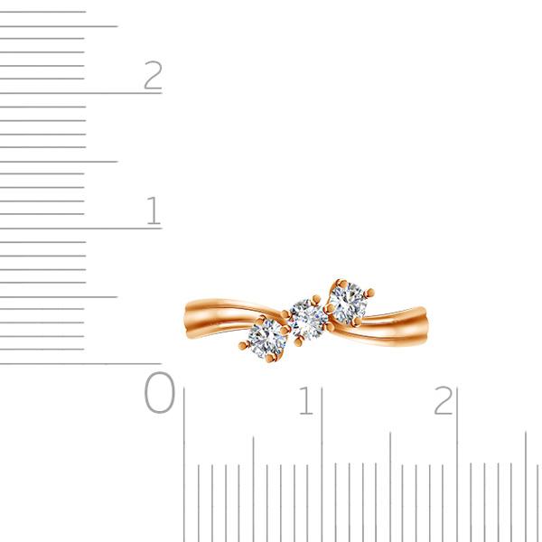 Кольцо из золота Э2972-01К113856