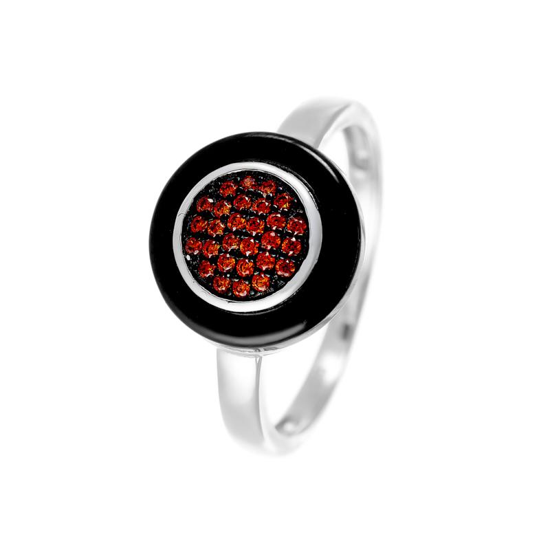 Кольцо из серебра TC-R00034-B-W-X-X-RO