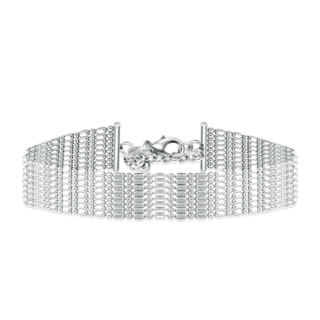 Итальянский серебряный браслет XBR04417-Rd