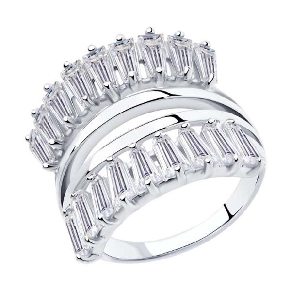 Кольцо из серебра 94013107