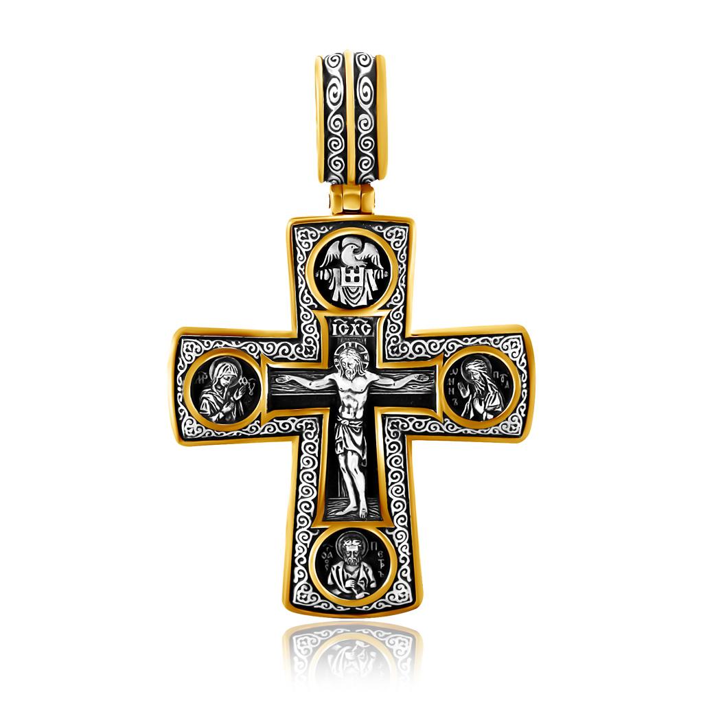 Купить со скидкой Крест из серебра ,08288з