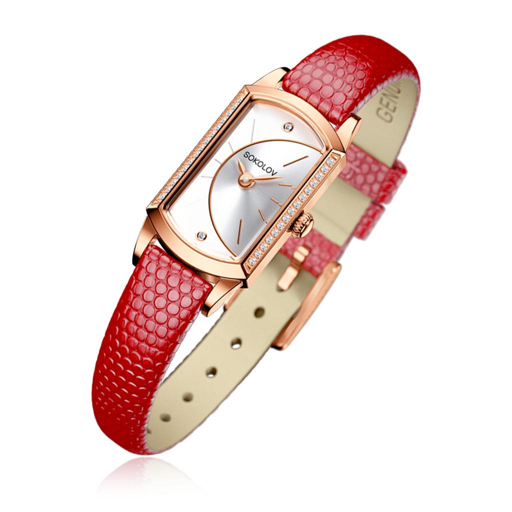 Часы женские SOKOLOV из золота 222.01.00.001.04.04.3 женские часы sokolov 211 01 00 000 01 04 3