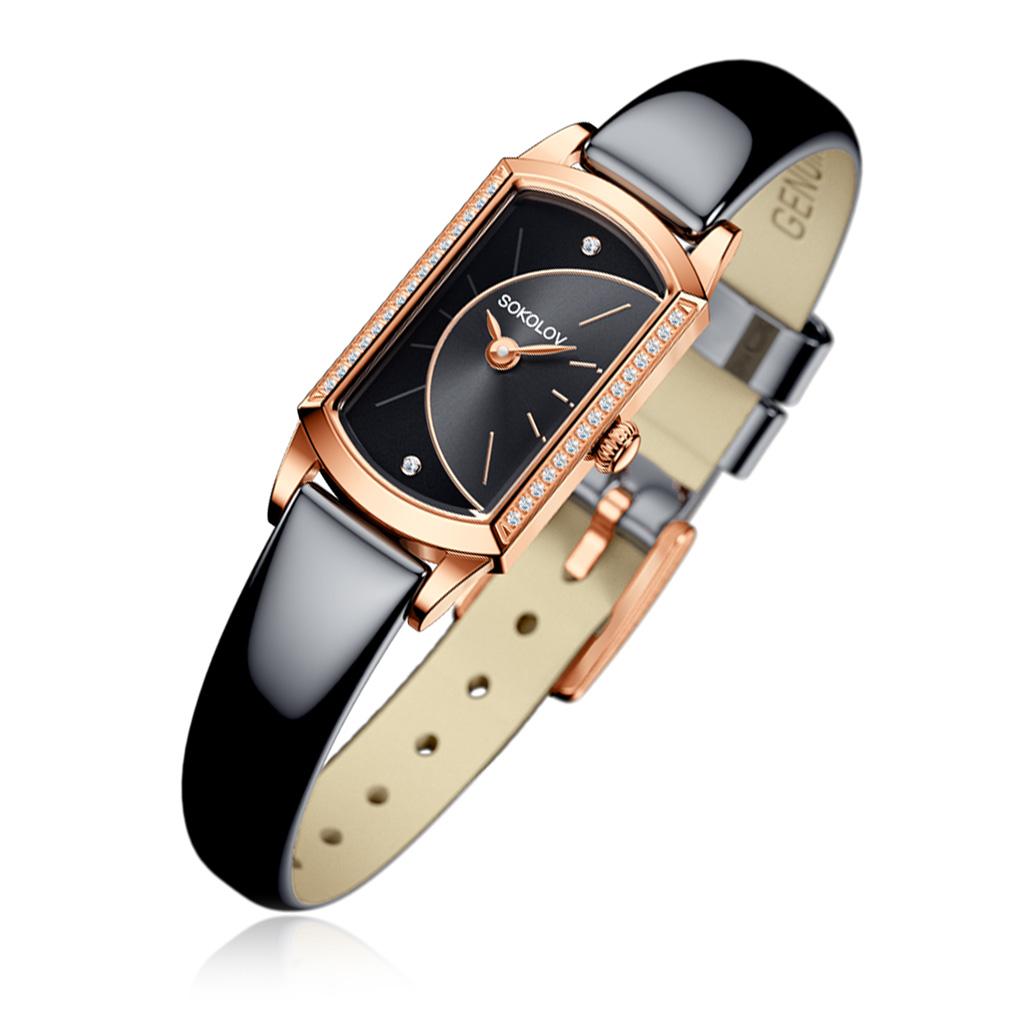 цена Часы женские SOKOLOV из золота 222.01.00.001.06.05.3 онлайн в 2017 году