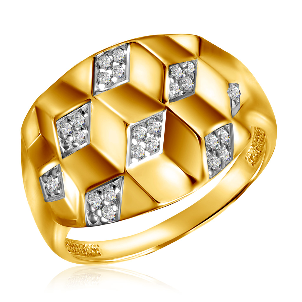 Кольцо из золота К332-4315 цена и фото