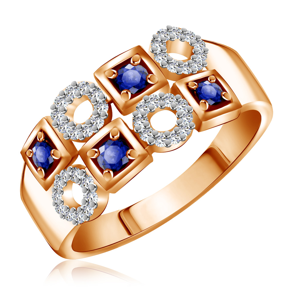 Кольцо из золота К10872с