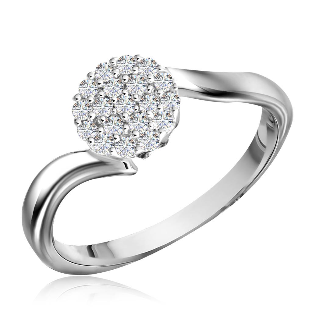 Кольцо из золота R 63209