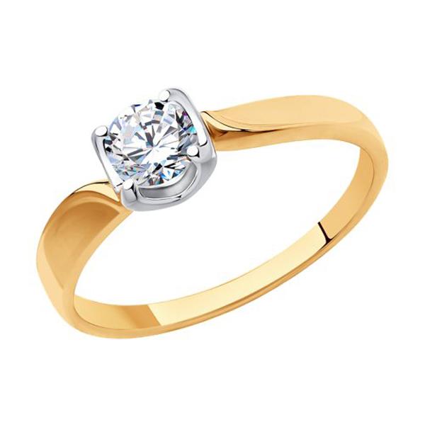Кольцо из золота 018366