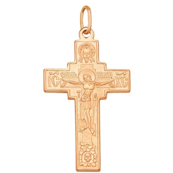 Купить со скидкой Крест из золота 17020608000