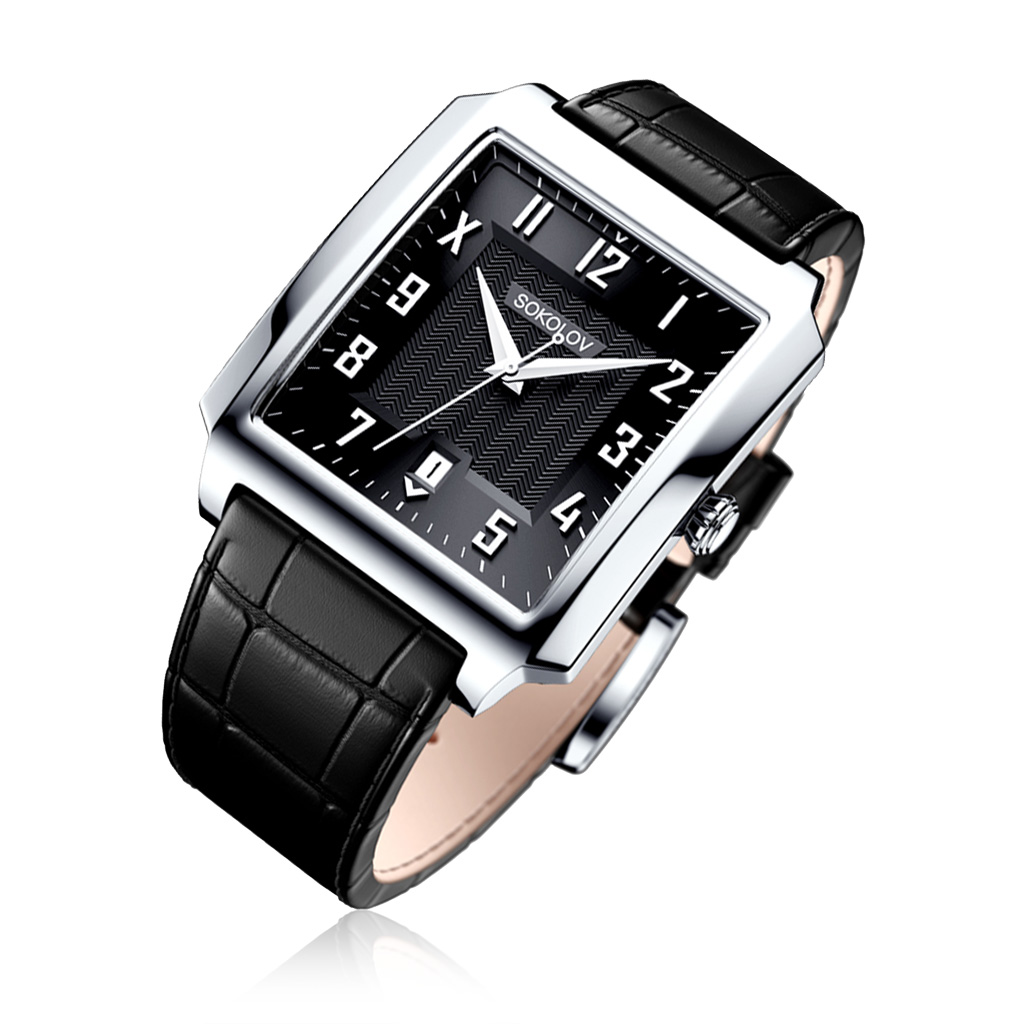 цена Часы мужские SOKOLOV из серебра 134.30.00.000.05.01.3 онлайн в 2017 году