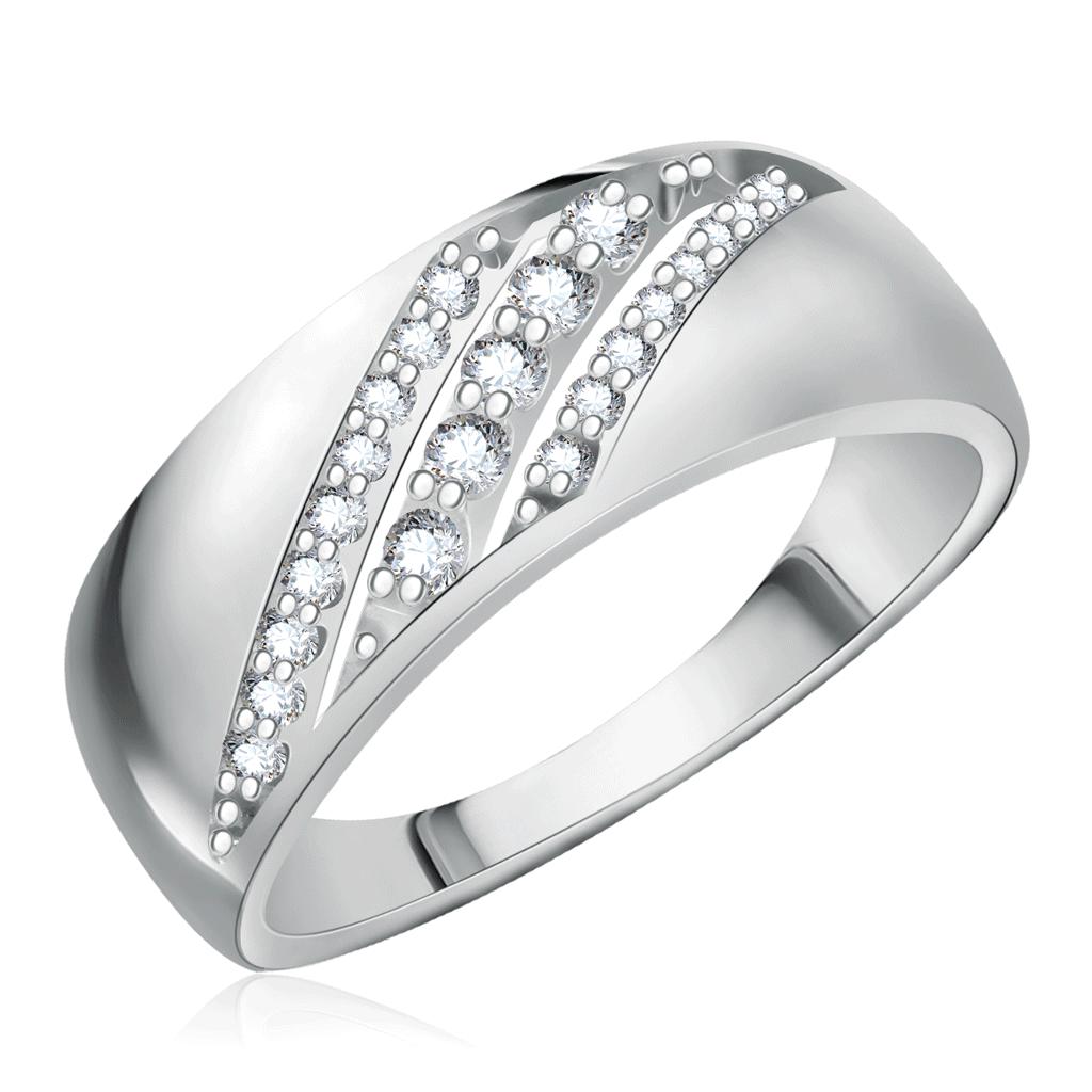 Кольцо из серебра 94011986