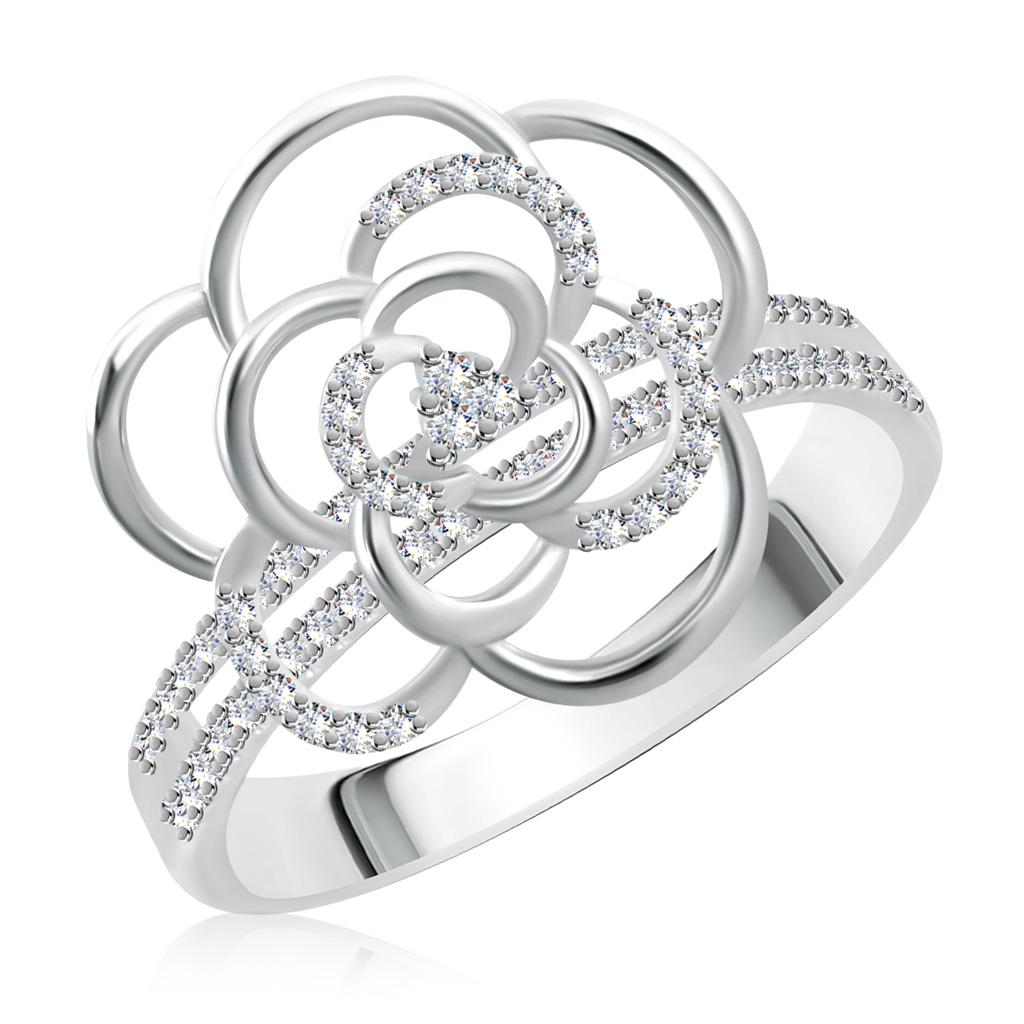 Кольцо из серебра SR19554