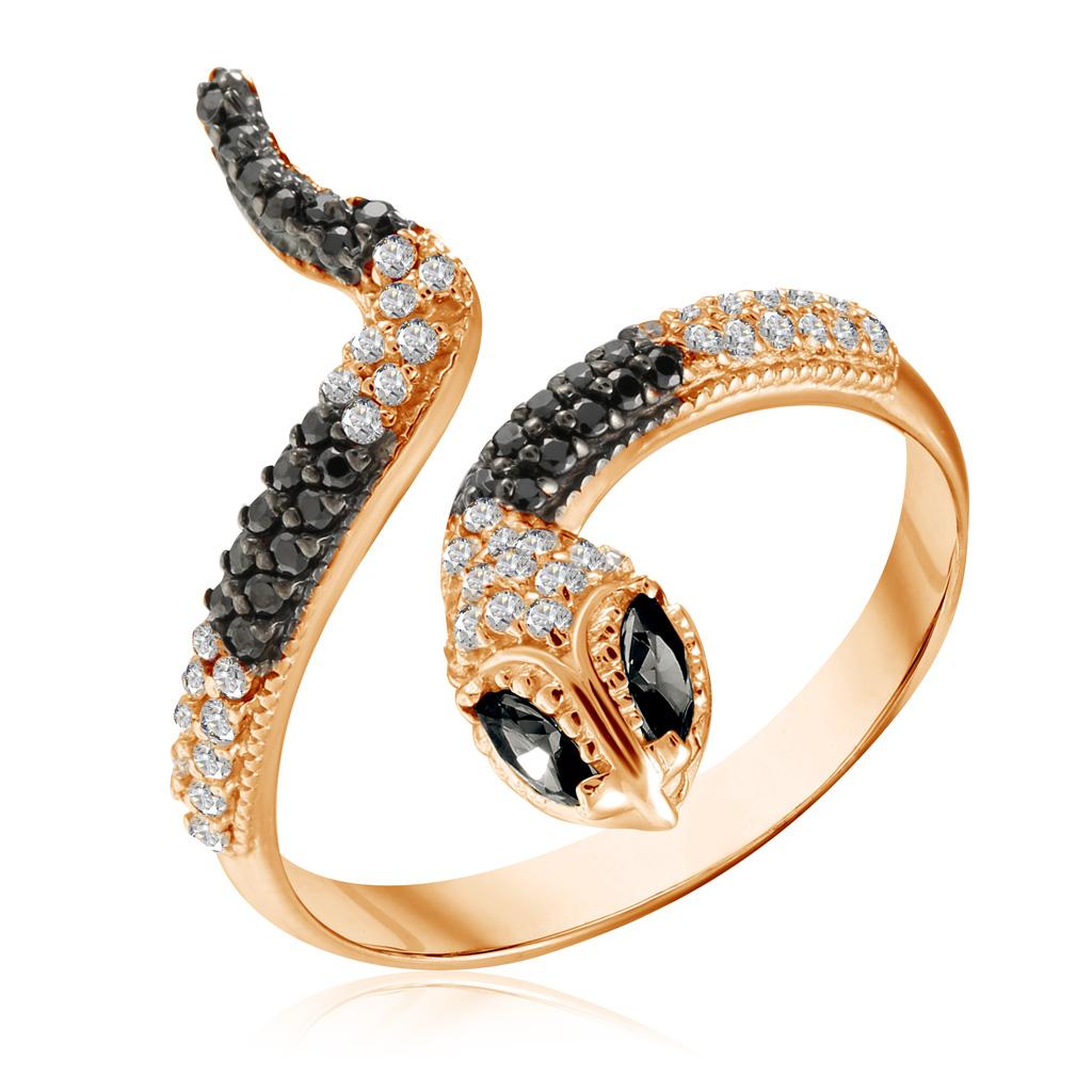 Кольцо из золота 01К215989-3