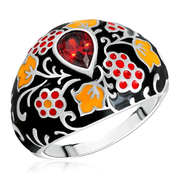 Купить Кольцо из серебра 94011117