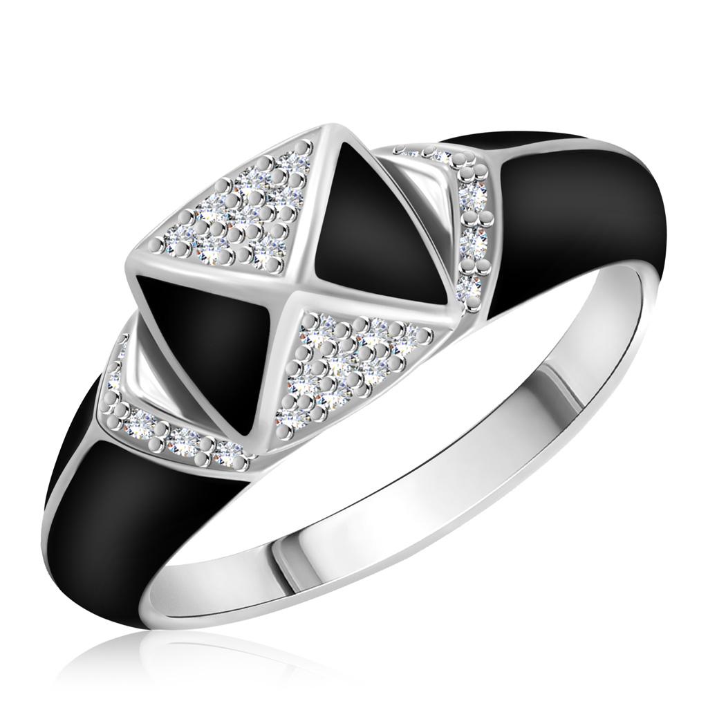Кольцо из серебра 01-0520/ЭМ22-00