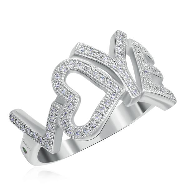 Серебряное кольцо с фианитами SH33-R кольцо 1979 11 r