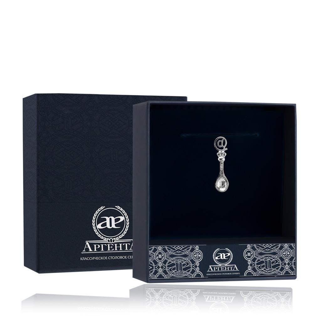 Ложка-загребушка из серебра 507СВ00001 ювелирные сувениры серебро россии ложка загребушка