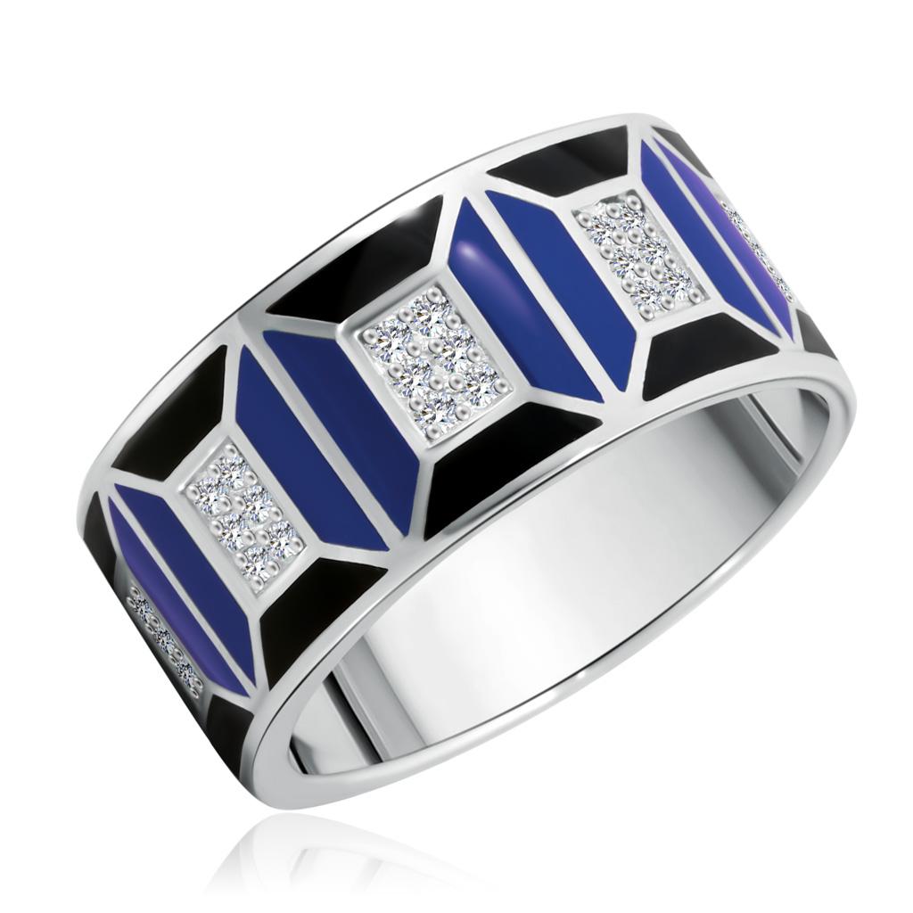 Кольцо из серебра 01-0454/ЭМ37-00