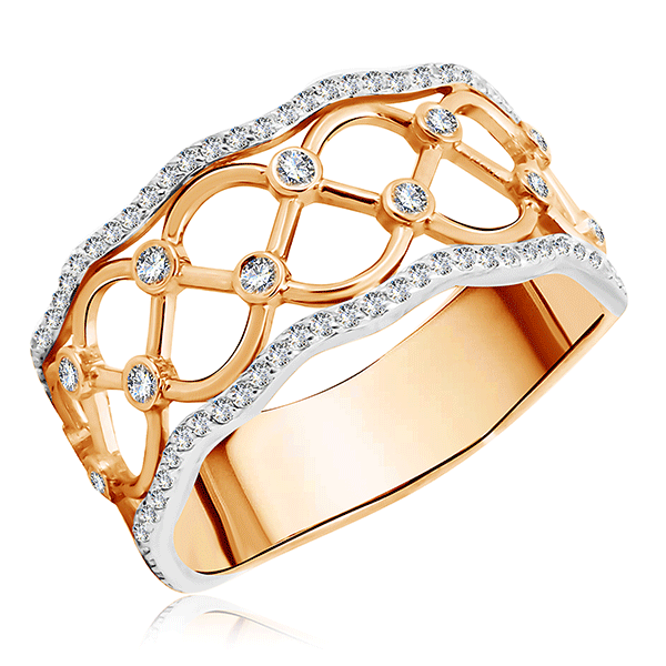 Кольцо из золота 01К116614