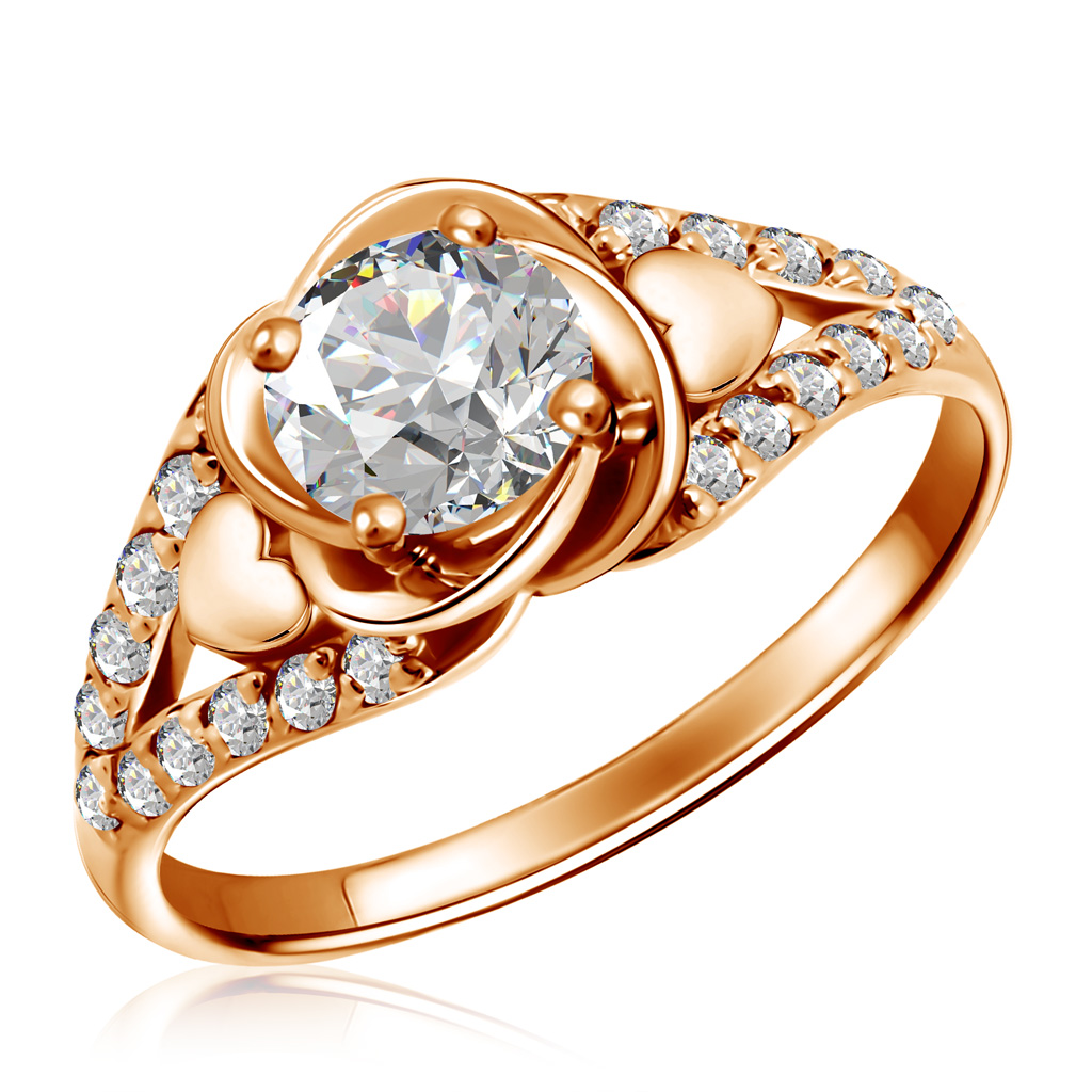 Кольцо из золота 01К117339