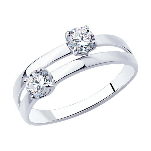 Кольцо из серебра 94013086