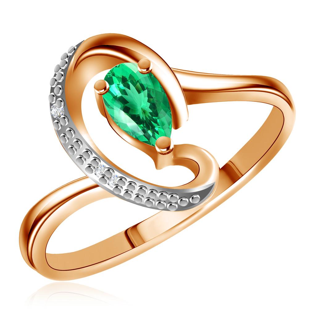 Купить Кольцо с изумрудом из золота 0104417
