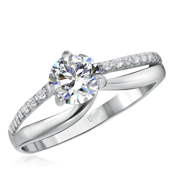 Кольцо из серебра 94011491