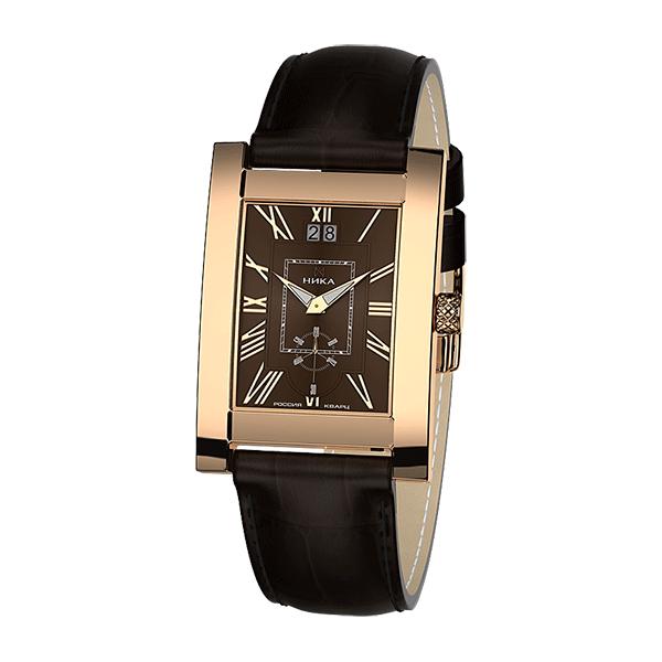 Часы мужские НИКА из золота 1041.0.1.61