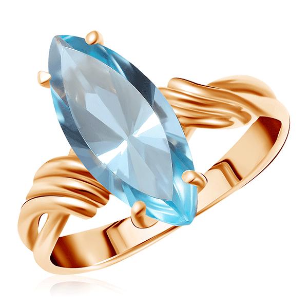 Купить Кольцо из золота с топазом 011071
